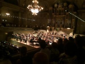 Winterthurer Symphoniker auf der Tonhalle-Bühne.