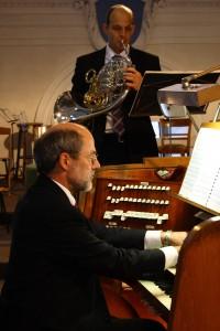 Ramon und Peter Fröhlich im Zusammenspiel