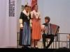 Küttel Hany, Andrea und Mario beim Jodelvortrag<br>Bild: Armin Imlig